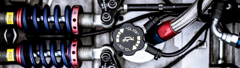 Ventil zum Motor eines Autos